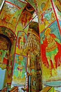 7фрески Успенский собор