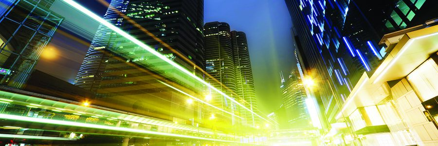 Ночная дорога. Гонконг