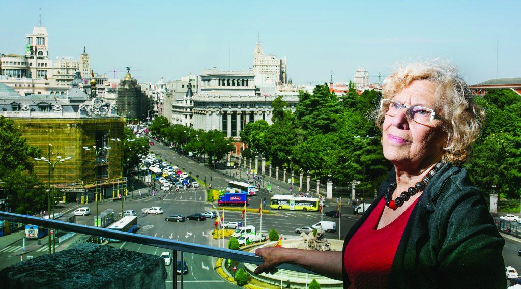 Dvd 796 (06/07/16) Entrevista a la alcaldesa de Madrid, Manuela Carmena. © Carlos Rosillo.