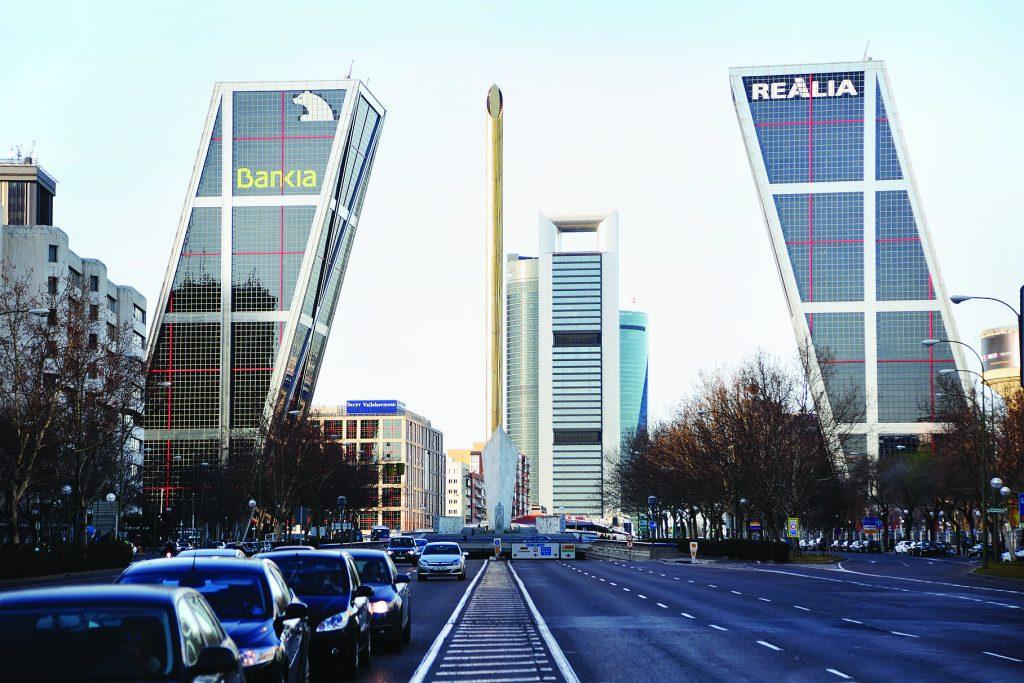 "Комплекс зданий ""Ворота в Европу"". Мадрид, Испания"