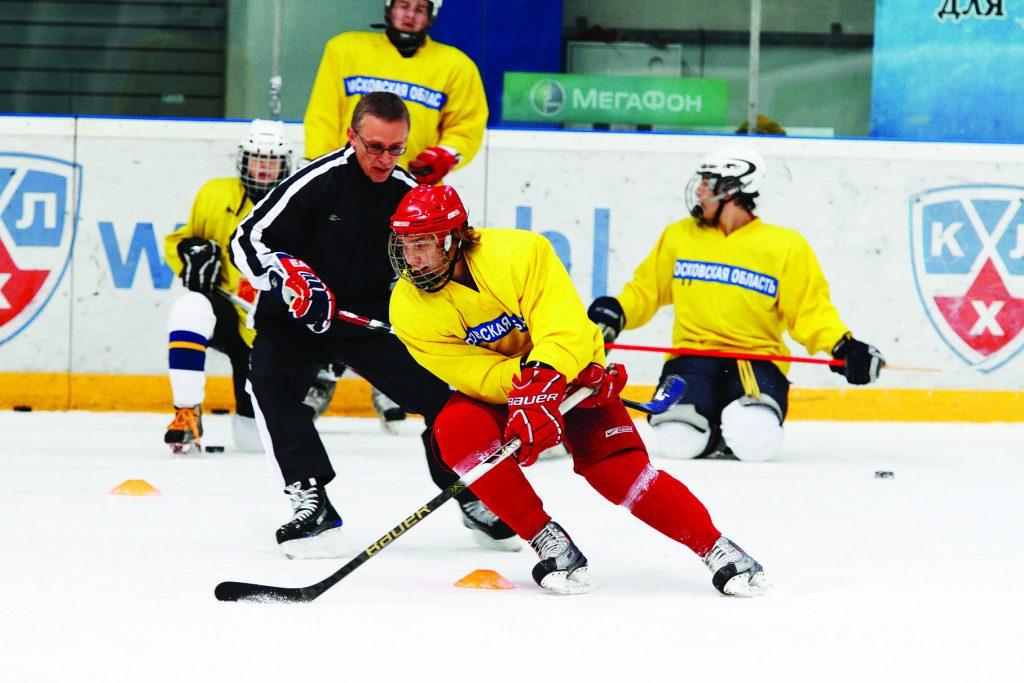 Мастер - класс легенд мирового хоккея в Балашихе