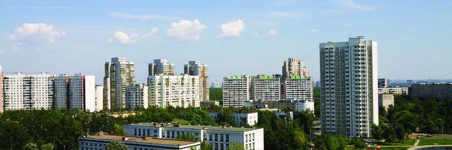 Спальный район Коньково в Москве