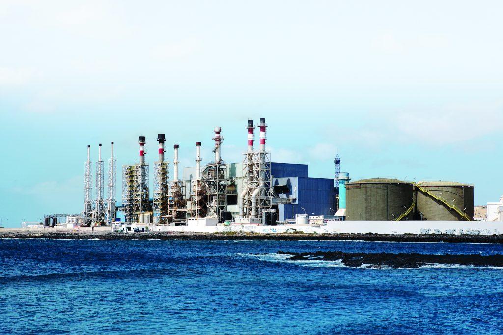 Herstellung Fabrik Industrie Entsalzungsanlage