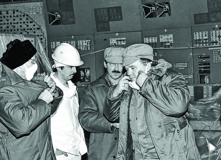 Ликвидация аварии на ЧАЭС