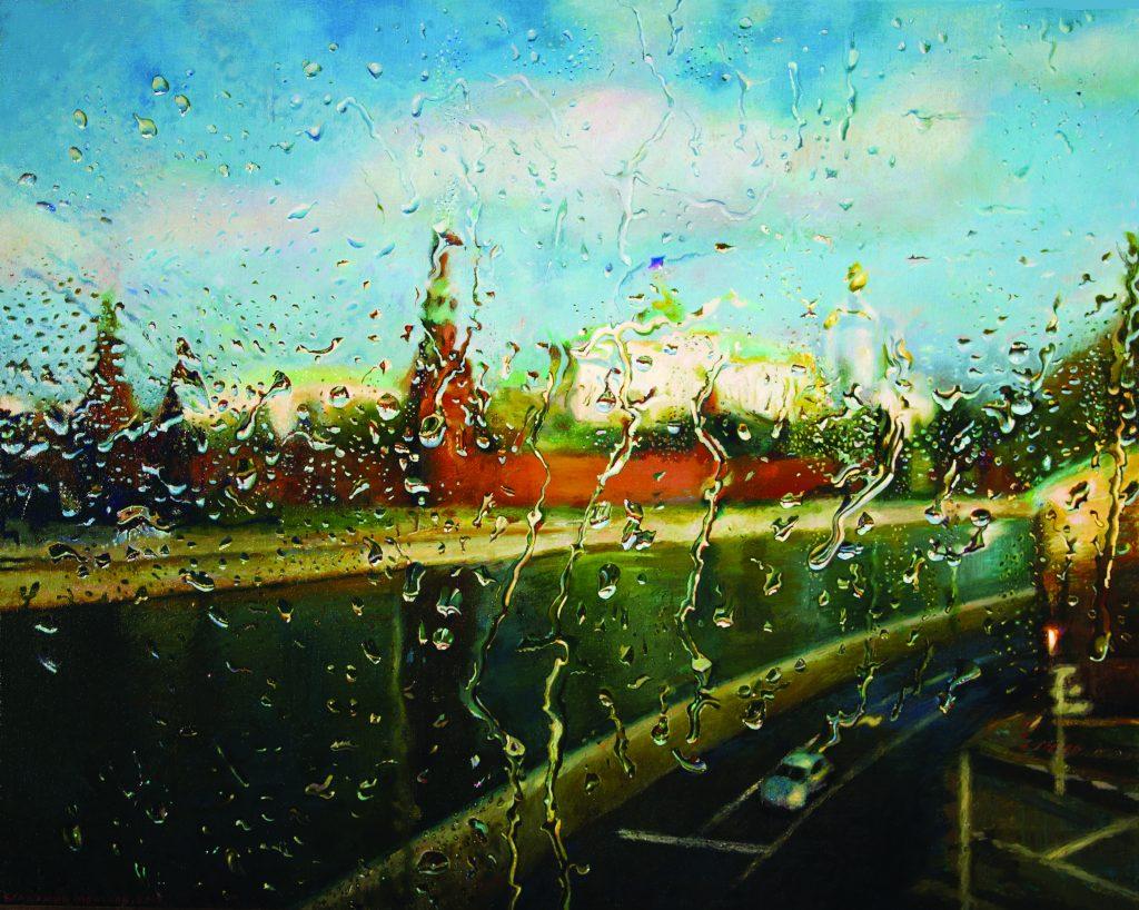 11. Кремль с Большого Каменного моста.80-х 100 , х.м .