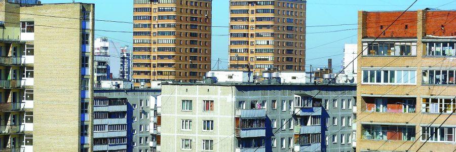 Девятиэтажный восьмиподъездный панельный жилой дом серии 1-515/9м, построен в 1969 году. Нижняя Первомайская улица, 35/9. Район Восточное Измайлово. Город Москва. Россия